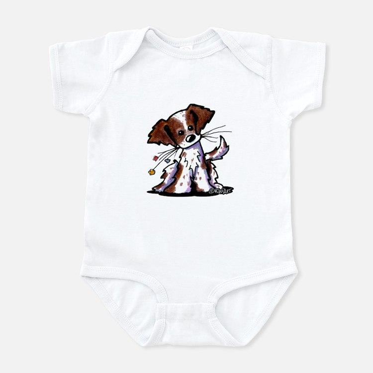 Tiny Liver Brittany Infant Bodysuit