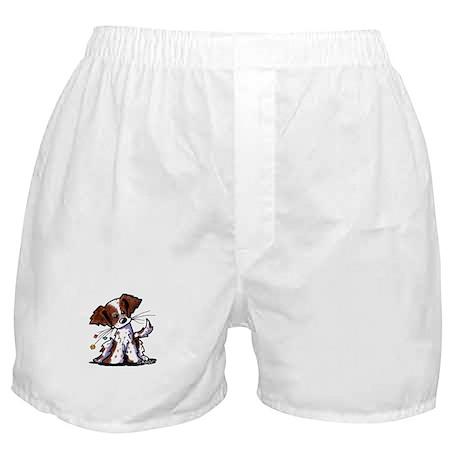 Tiny Liver Brittany Boxer Shorts
