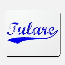 Vintage Tulare (Blue) Mousepad