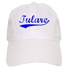 Vintage Tulare (Blue) Baseball Cap
