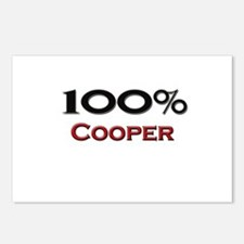 100 Percent Cooper Postcards (Package of 8)