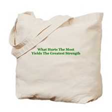 Greatest Strength Tote Bag
