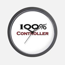 100 Percent Controller Wall Clock