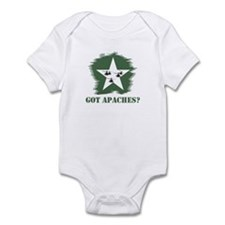 Got Apaches? Apache Ah-64d Infant Bodysuit