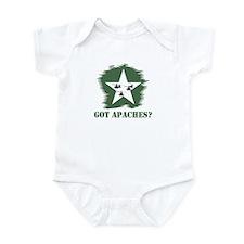Got Apaches? Apache Ah-64d Infant Bodysuit