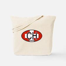Switzerland Colors Tote Bag