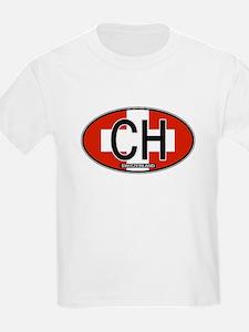 Switzerland Colors T-Shirt