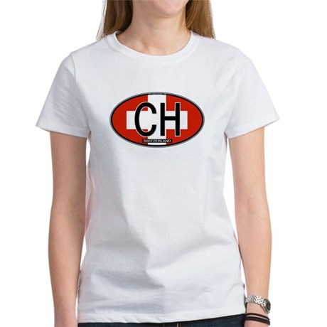Switzerland Colors Women's T-Shirt