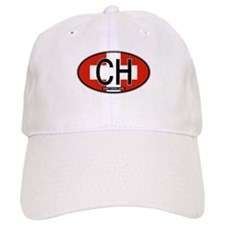Switzerland Colors Baseball Cap