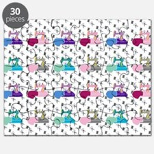 Colorful Sewing Machines Puzzle