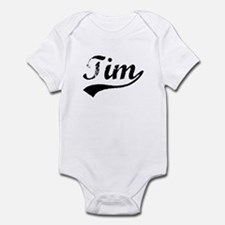 Vintage Tim (Black) Infant Bodysuit