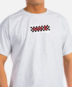 Unique Black and white checkered T-Shirt