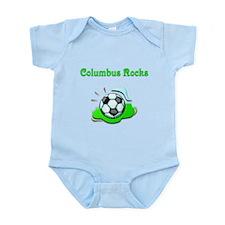 Columbus Rocks Infant Bodysuit