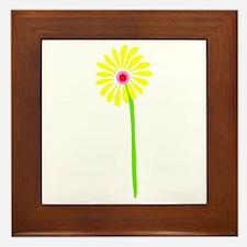 Spring Flower Framed Tile