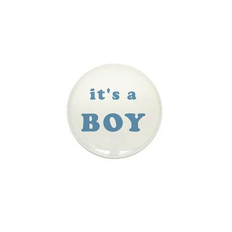 """""""It's A Boy"""" Mini Button (10 pack)"""