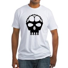 Chain Ring Skull Shirt