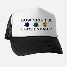 Threesome Tri Trucker Hat