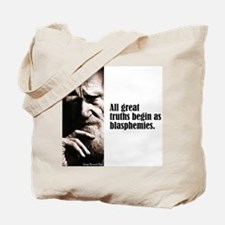 """Shaw """"Great Truths"""" Tote Bag"""