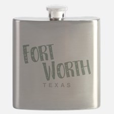 Fort Worth Texas Flask