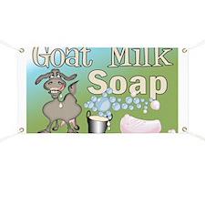 Goat Soap Advertising Banner