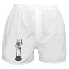 Skeleton Washtub Bassist Boxer Shorts