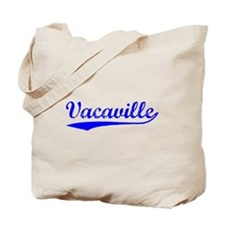 Vintage Vacaville (Blue) Tote Bag