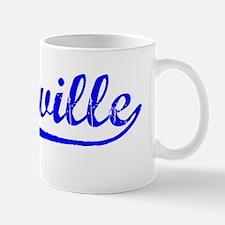 Vintage Vacaville (Blue) Mug