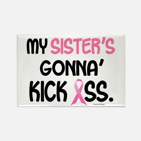 Gonna' Kick Ass 1 (Sister) Rectangle Magnet
