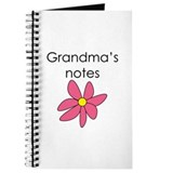 Grandmas notes Journals & Spiral Notebooks