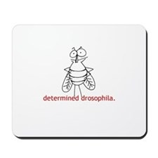 Determined Drosophila Mousepad