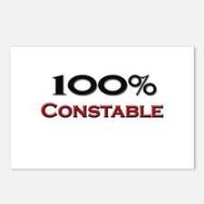 100 Percent Constable Postcards (Package of 8)
