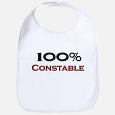 100 Percent Constable Bib