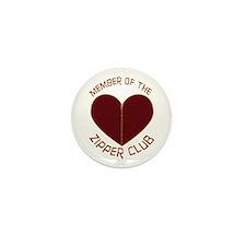 Zipper Club Mini Button (10 pack)