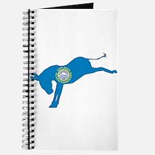 South Dakota Democrat Donkey Flag Journal