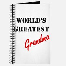 World's Greatest Grandma Journal