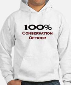100 Percent Conservation Officer Hoodie