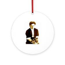 Houdini's Ghost Ornament (Round)