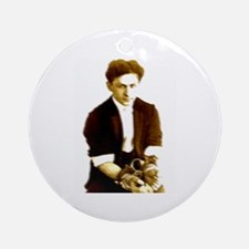 Houdini's Ghost Ornament (Round)