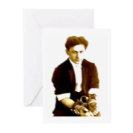 Houdini's Ghost Greeting Cards (Pk of 10)