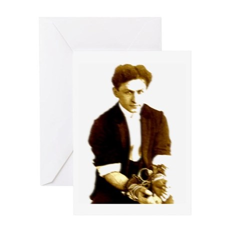 Houdini's Ghost Greeting Card