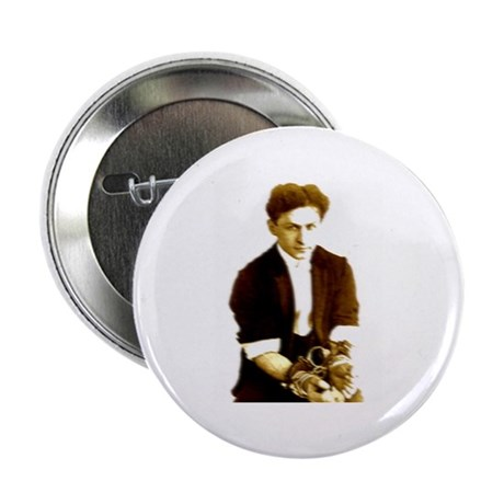 "Houdini's Ghost 2.25"" Button"