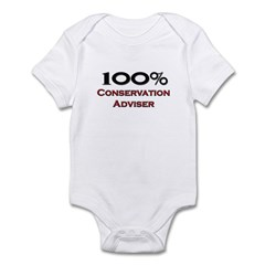 100 Percent Conservation Adviser Infant Bodysuit