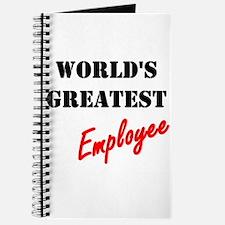 World's Greatest Employee Journal