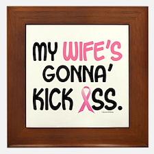 Gonna' Kick Ass 1 (Wife) Framed Tile