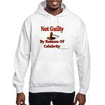 Not Guilty By Reason Of Celeb Hooded Sweatshirt