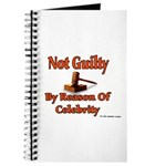 Not Guilty By Reason Of Celeb Journal