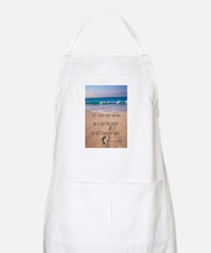Footprints in Sand-Emerson BBQ Apron