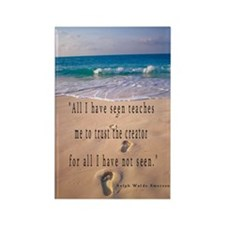 Footprints in Sand-Emerson Rectangle Magnet