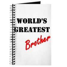 World's Greatest Brother Journal