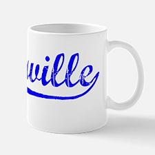 Vintage Victorville (Blue) Mug